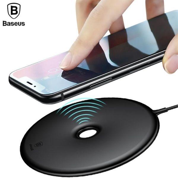 Baseus QI Wireless Ladegerät für iPhone X 8 Plus für Samsung S8 S9 Plus Donut 15W Wireless Ladegerät mit Kleinkasten 10pcs / up