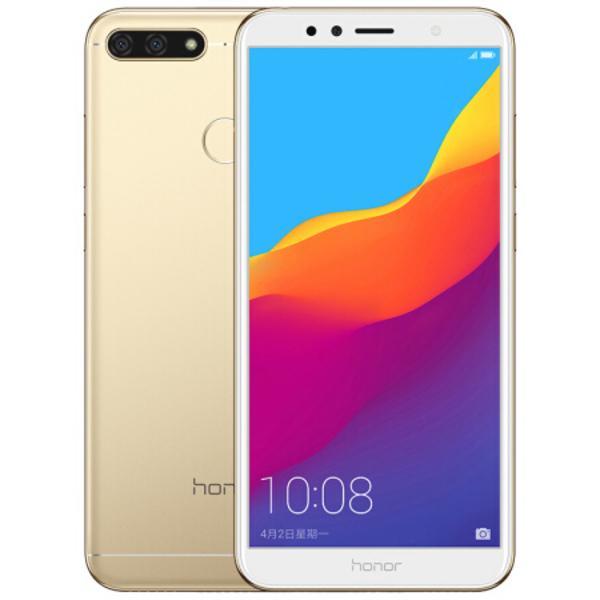 Cellule d'origine Huawei Honor 7A 4G LTE Téléphone 2 Go 32 Go de RAM ROM Snapdragon 430 Octa base Android 5.7 pouces 13MP ID d'empreintes digitales Smart Mobile Phone