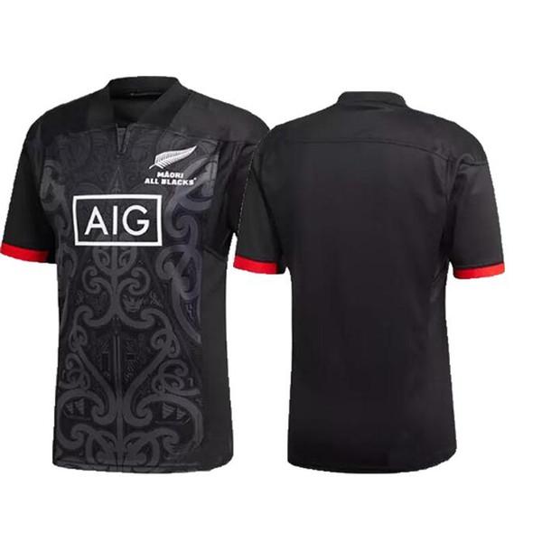new 2019 Maori All Blacks Jersey New Zealand All Blacks Maori Performance Tee Shirt Super Rugby League shirts