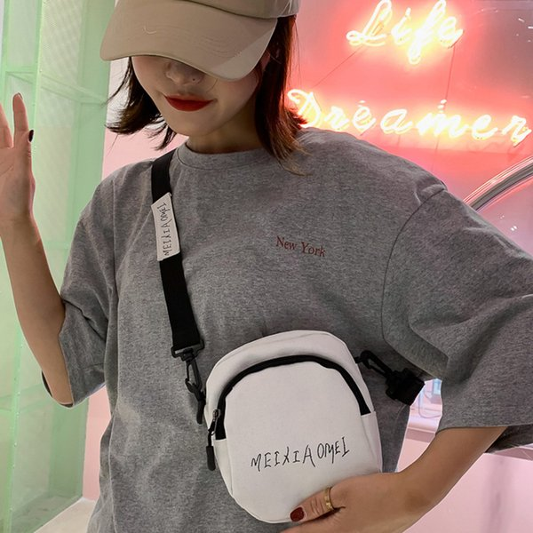MUQGEW Women's Bags Cross body Zipper Fashion 2019 Student Casual Canvas Teenagers Student Travel Messenger Bag torebki damskie