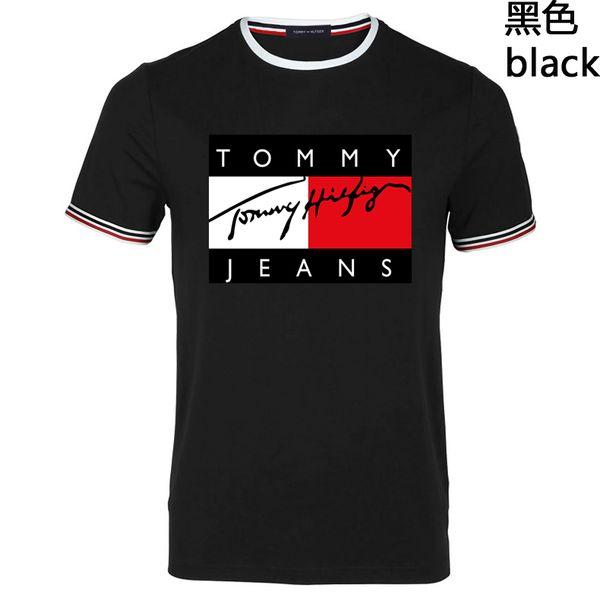tz1212 / 2019 Sommer-Luxus-Shirt Herren T-Shirt Herren Kurzarm Rundhalsausschnitt LOGO Druck T-Shirt Herren Designer T-Shirt Mode
