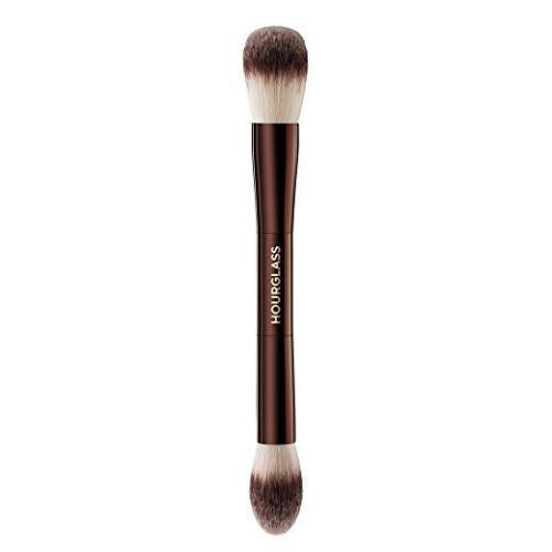 Brand New Hourglass Ambiente Iluminação Editar Maquiagem Escova Dupla Face multi-funcional Rosto Bronzer Blush Em Pó Escovas Cosméticas Shiping Livre