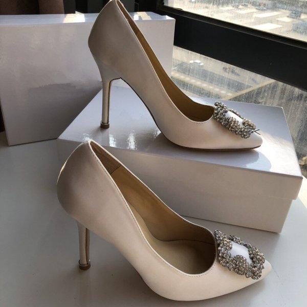 Дизайнерская вечеринка свадебная обувь невесты женщины женские сандалии мода сексуальные туфли острым носом на высоких каблуках кожа yc19031311