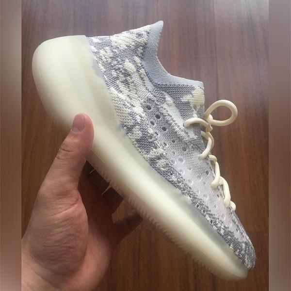 Top qualità Kanye V3 scarpe alieno epoca di lusso scarpe mans Kanye piattaforma yee zy ovest kanyewest luxe zapatos scarpe donne con la scatola s3 H8