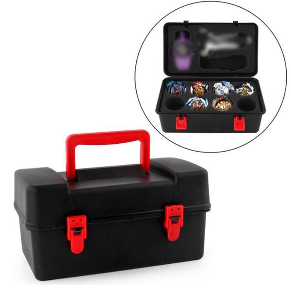 top popular Beyblade Burst Gyroscope Funsion 4d Spinning Top Storage Spinner Carrying Case Box Locker Case Organizer Gyro Burst Toy for Kids 2020