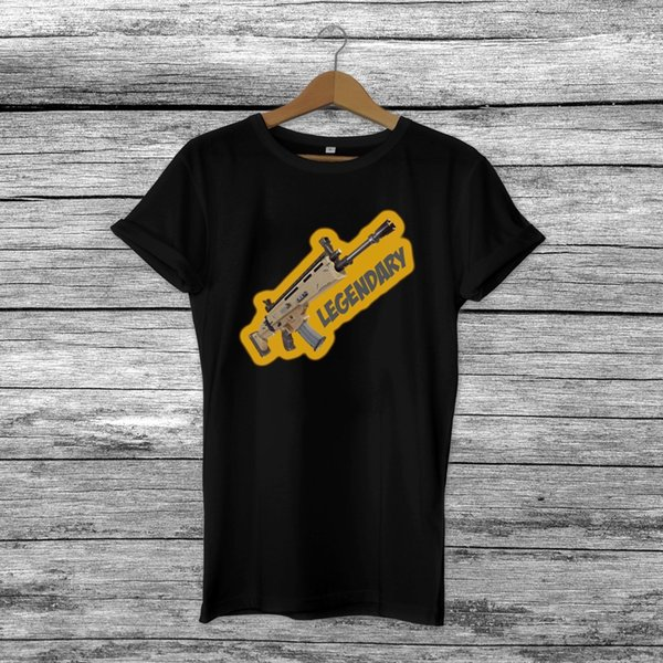 ab9945863 Legendary Scar H - Fortnite Inspired Video Gaming T-Shirt Mens Kids Xbox /  PS4Funny