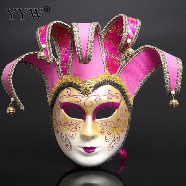 Hombres Mujeres Ópera de Pekín Mascarada Fiesta Máscara Disfraces Venecianos de Halloween Máscara de Anónimo Máscara de Navidad Cosplay Adulto