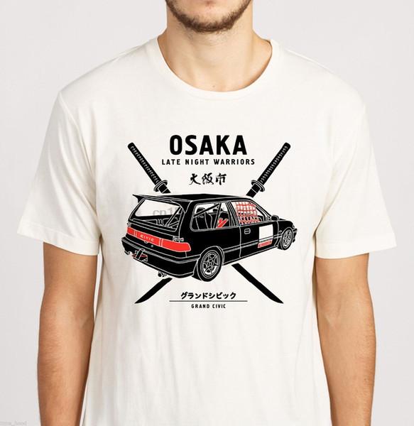 Япония Kanjo тенниску Осака Jdm Гражданский EF9 Kanjozoku Carnewest 2019 Мужские футболки Мода майка Мужская одежда (1)