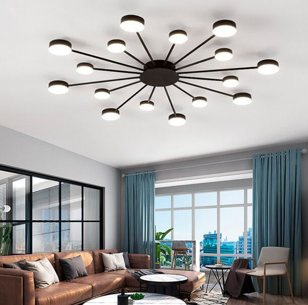 2019 Nordic Creative Living Room Personality Restaurant Bedroom Ceiling  Lamps Ultra Thin Led Ceiling Lighting Ceiling Lamps MYY From  Meilibaode2008, ...
