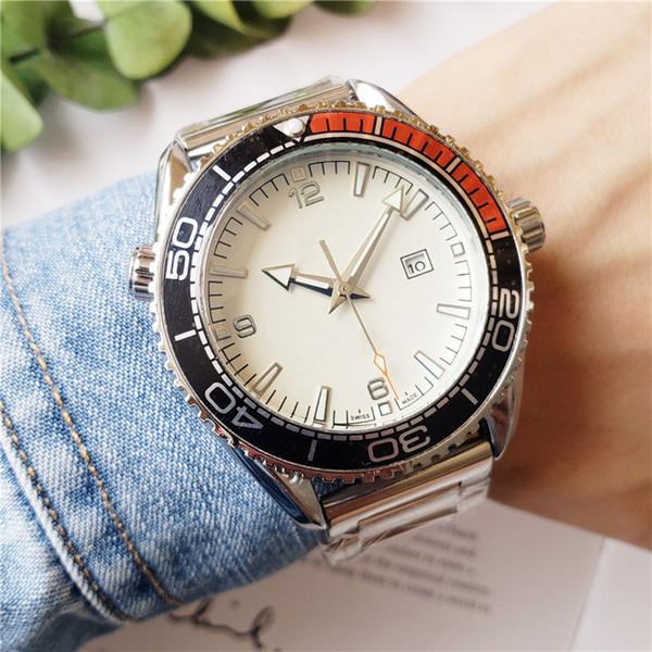 New Royal carvalho 2019 Aço Inoxidável Moda Quartz Movement Watch Luxo homens designer de relógios Estilo Clássico Mens Womens relógio de pulso colorido