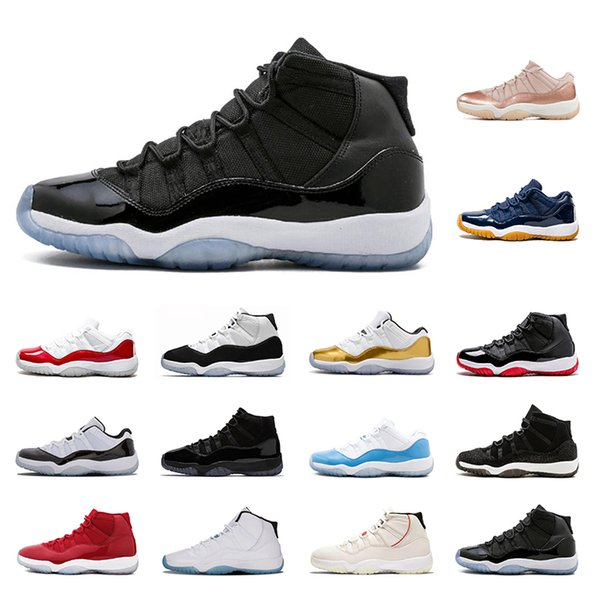 airjordanretro 11 Classic 11s Basketball shoes breathable running shoes Cap and Gown Concord High 45 sports sneakers