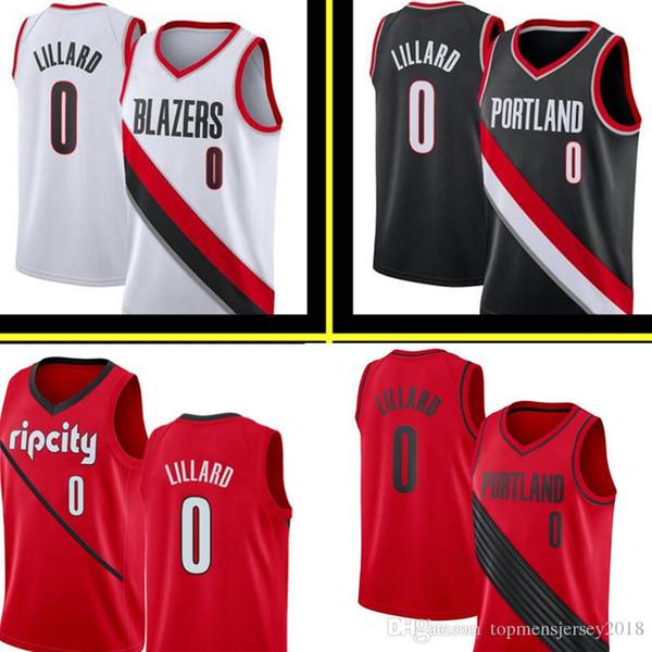 9137bf50ed37 Damian 0 Lillard Portland New Trail C.J. 3 McCollum Blazer Jersey Mens  Basketball Jerseys City Embroidery