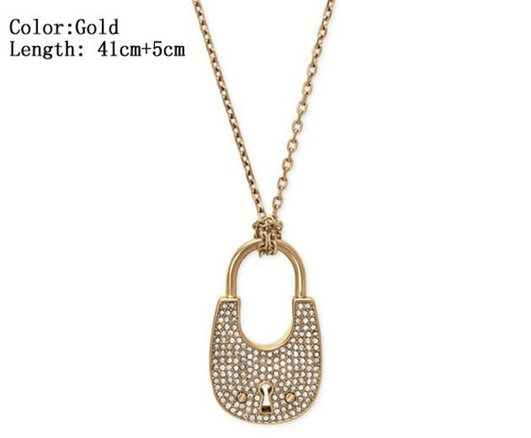3 Color Heart Shape Letter Rhinestone Necklace Gold, Silver, Rose Gold Color Chain high quality for Women Lady Girl Lady Jewelry