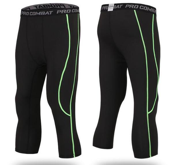 black+green,Capri pants