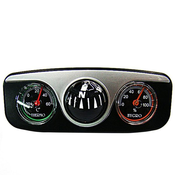 Auto Accessories Thermometer Gift Display Dashboard Ornaments Rectangle Decors Waterproof Free Stand Interior Car