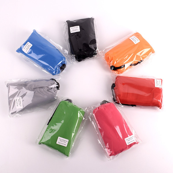 best selling 100*140cm Outdoor Waterproof Beach Blanket Portable Camping Picnic Sand Mat Travel Foldable Pocket Pad with bag C6255