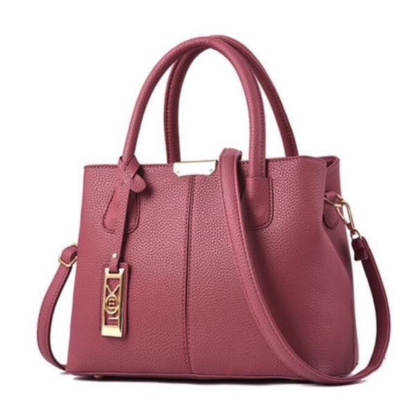 Borse del progettista borse di cuoio Big Capacity design di lusso composito sacchetti signora frizione spalla tote borsa femminile con portafoglio