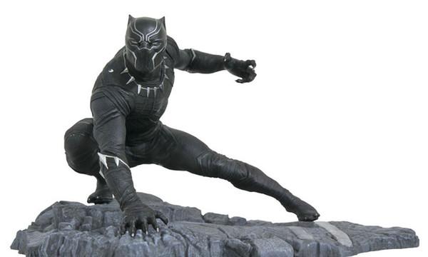 Avenger Alliance Infinite War 1/6 Panthère Faite à la Main Modèle Statue Amazing Picture Book Series