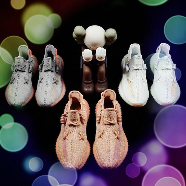Zapatos corrientes estáticas fuera para hombre tinte azul de triple Zebre Designer Shoes Bred zapatillas blancas de la moda unisex mantequilla de sésamo zapatillas de deporte para mujer de 5-11,5
