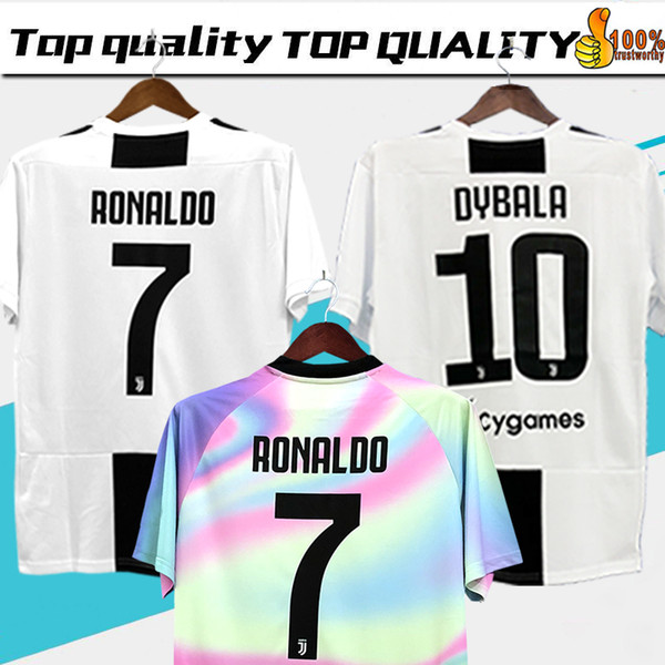 the latest a5945 665b8 2019 18 19 RONALDO DYBALA JOAO CANCELO BONUCCI Soccer Jerseys Football  Shirt MANDZUKIC Juventus Camiseta 2018 2019 Maillot From Group1234, $22.36  | ...