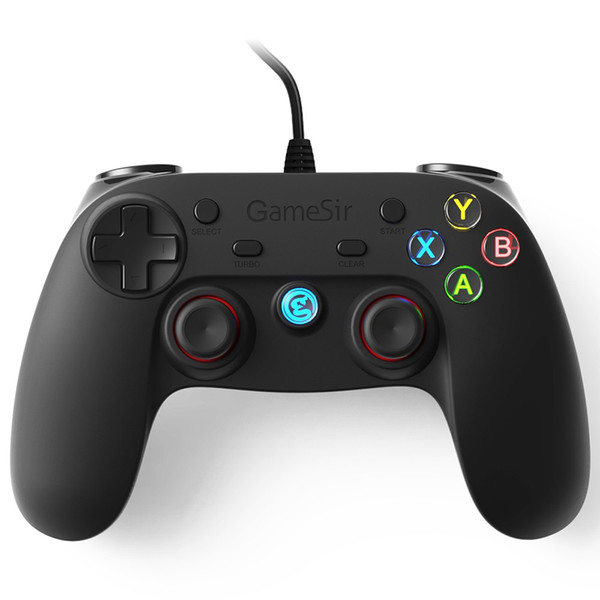 Wired USB Gamepad Controller Joystick Game Pad for Android Smartphones & PS3 Tablet PC Computer WinXP with Phone Bracket