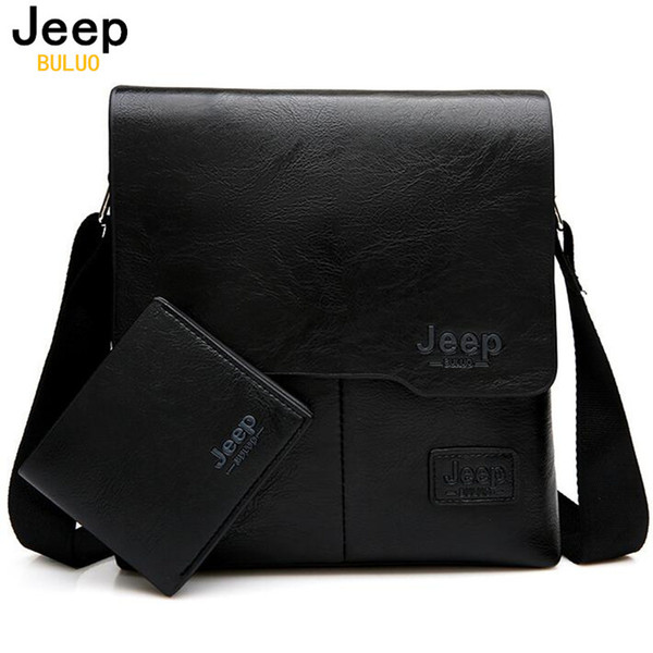 Men Messenger Bags 2 Set Famous Brand Pu Leather Crossbody Shoulder Bag For Man Business Tote Bags Hot Sale Fashion
