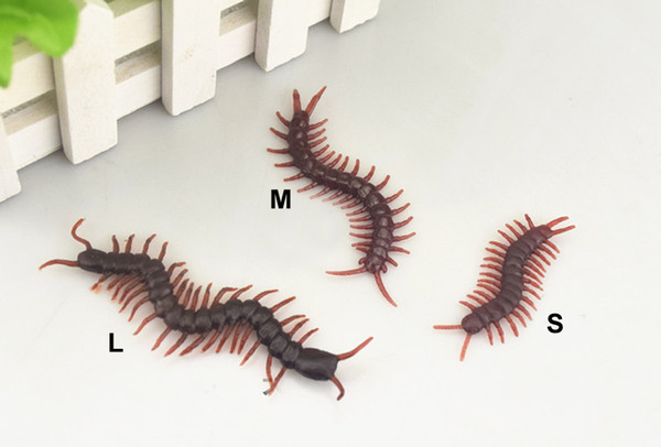 Plastic Simulate Centipede Simulation Fake Insect Prank Trick Funny April Fools' Day Gift Horror Scary Toys
