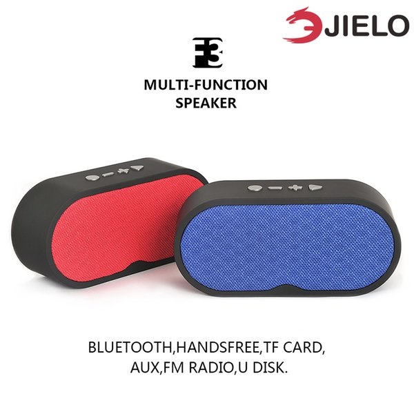 Altavoz Bluetooth portátil de tela con micrófono BT 4.2 Columna Radio FM Tarjeta TF Disco U para iPhone Xiaomi Paño Inalámbrico Altavoces bajos