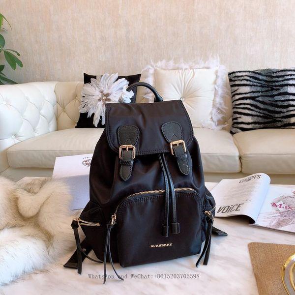 39ea4268d16 Fashion Designer Backpack 2019 New Embroidery Backpack travel Men Women  Luxury Brand Fashion black