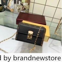 41508 M Women de la lona cartera de la cadena del embrague del monedero del bolso de hombro del mensajero de Crossbody de mano Bolsas de Boston Bolsas
