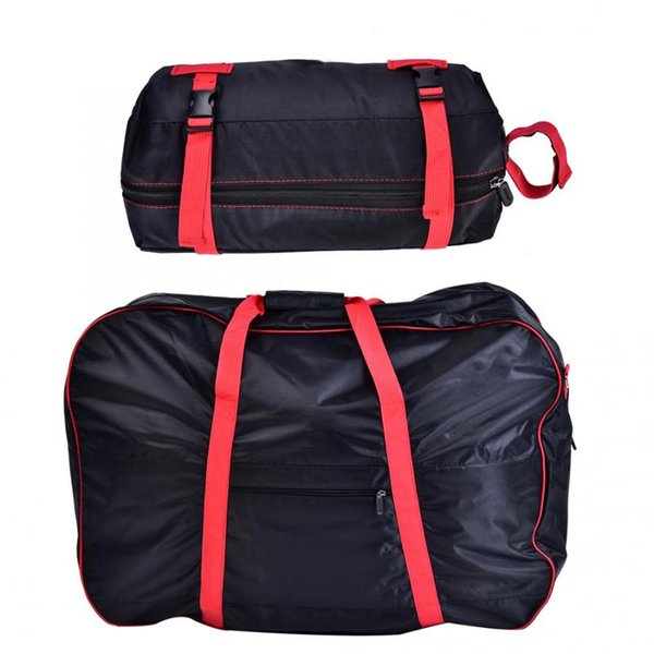 2 in 1 Portable Folding Bicycle Bag Bike Large Cover Storage Shoulder Bag with Small for 14-20in Bike Accessories