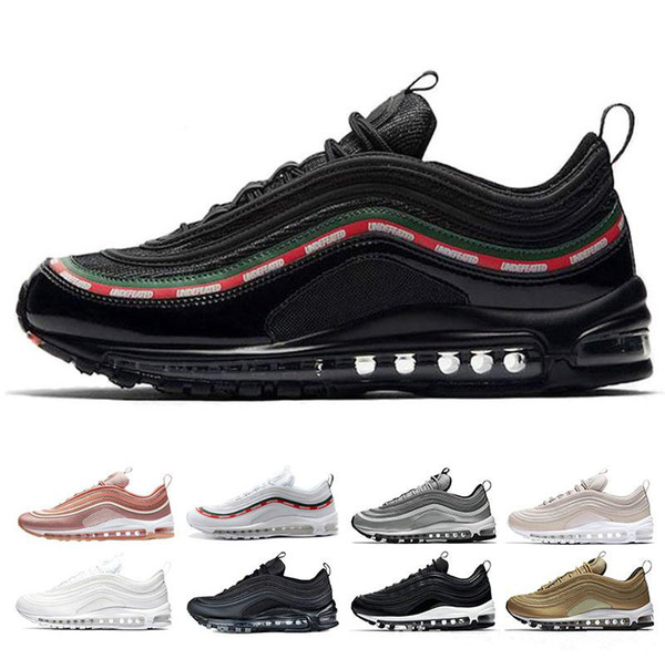 2019 High Quality 97 Running Shoes Men's 97s SW Japan Women Rose Pink Triple Black SE Trainer Designer Sneakers