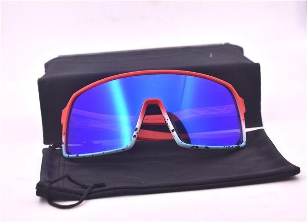 9406 kırmızı çerçeve mavi lens
