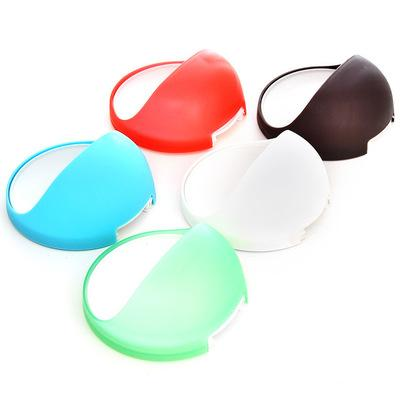 New colorful Qualified Dropship Plastic Suction Cup Soap Toothbrush Box Dish Holder Bathroom Shower Accessory kitchen accessory