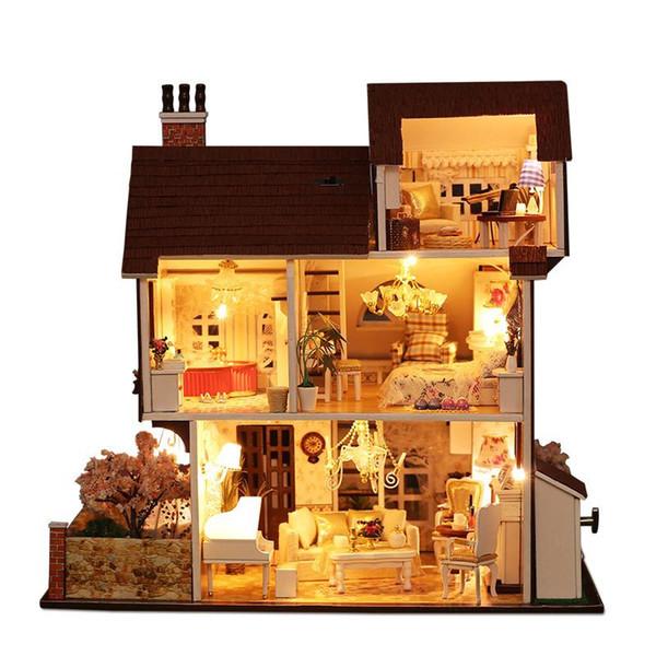 Miniature maison de poupées miniatures Deux Noir Ciseaux