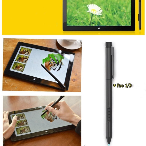 2019 Black Genuine Surface Stylus Touch Handwriting Digital Pen For  Microsoft Surface Pro 1 Surface Pro 2 Only Capacitive Pen From  Easylifestyle,