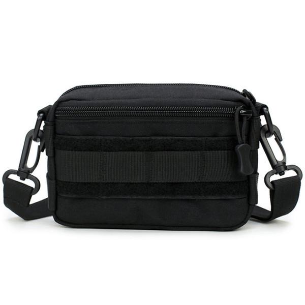 La bolsa de mensajero del hombro de Nylon Mini Crossbody Bolsa de cintura Defensa Personal hombres Ultra-Light Rango