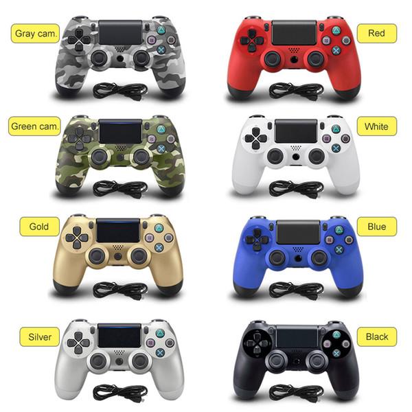 Für PS4 Controller Gamepad USB Wired Game Controller für 4 DualShock Joystick Gamepads PS4 PC