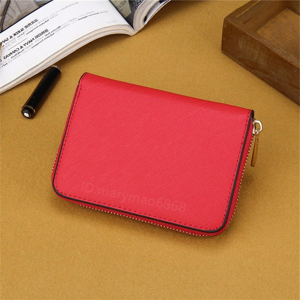 Best Quality Cheap Small Wallets Fashion Women Famous Single Zipper Money Clips Slim wallets 7 colors female pu leather Coin purse