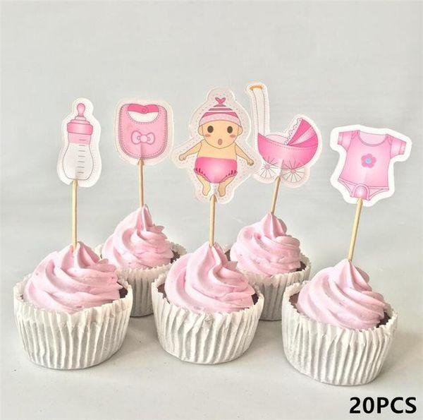 20pcs rosa baby