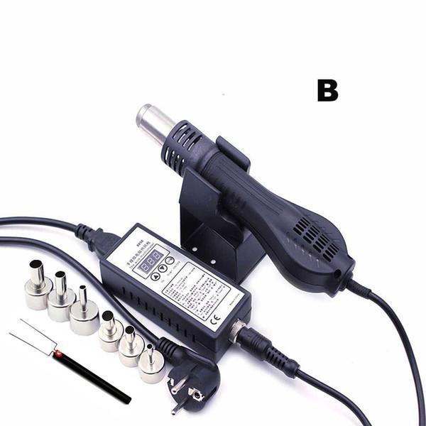 Pistola de calor de aire caliente del ventilador de aire caliente de la estación de la reanudación de 110V / 220V LED BGA