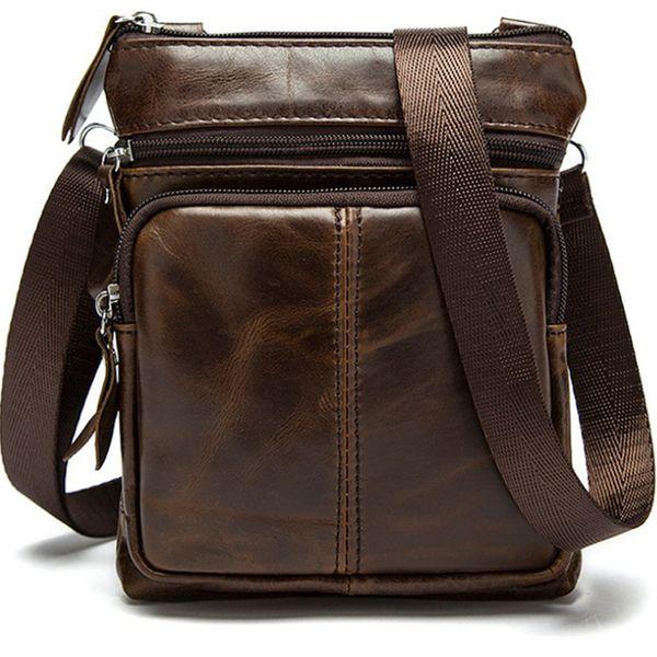 Maleta pequena bolsa de couro pastas de couro dos homens advogado bolsa de negócios para o homem sac a principal homme mens sacos crossboday ombro