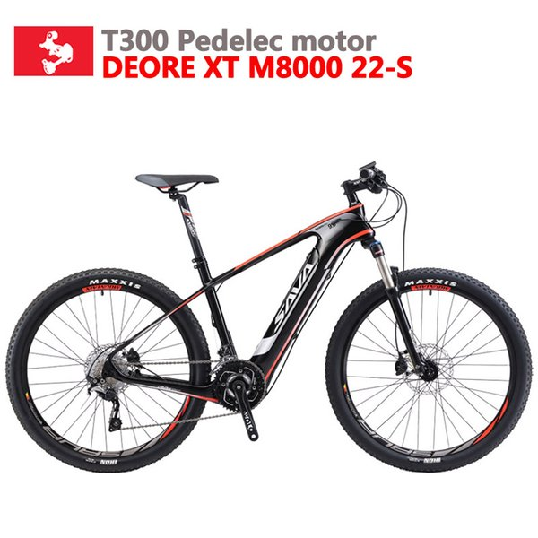 top popular wholesale Adult Electric Bike Carbon Electric mountain bike Powerful ebike Electric bicycle with Shimano M8000 and 350w 36v Battery 2020