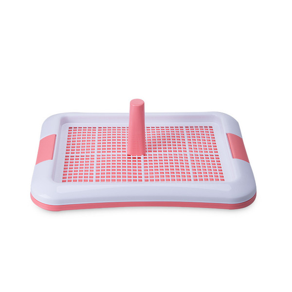 Portable Fence Tray Pad Puppy Training Potty Indoor Dog Toilet,Plastic Pet Toilet