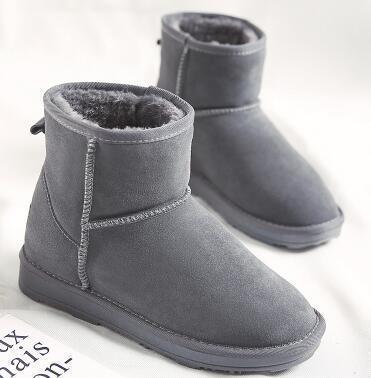 2018 зима новые австралийские короткие сапоги снега трусы женские универсальные не декоративные теплые нескользящие хлопчатобумажные ботинки зимние сапоги