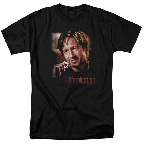 Californication Smoker Showtime Licensed Adult T Shirt Rambo Looking For Troubles Licensed Adult T Shirt Custom t shirt logo text photo