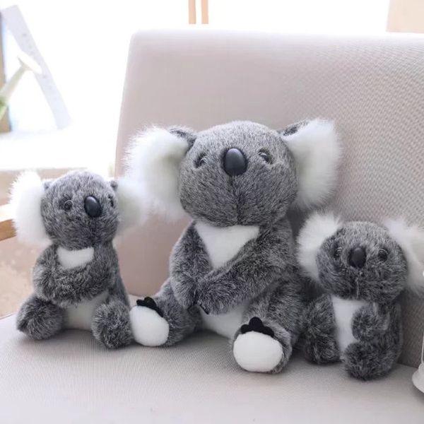 1pcs 13-28cm Australian Koala Bear Stuffed Plush Toys Super Cute Animal Sitting Mother and Baby Koala Plush Toys For Kids Gift
