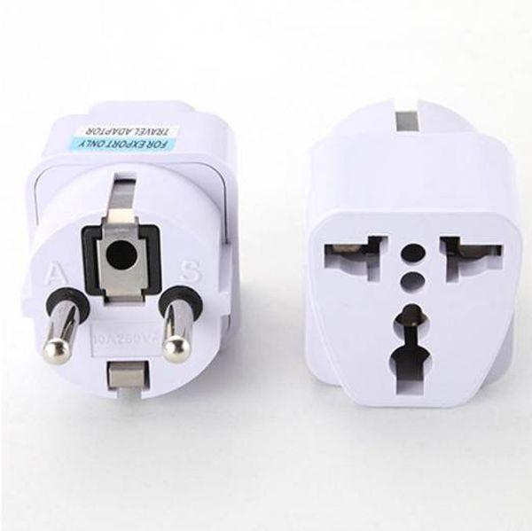 Best Price Universal UK US AU to EU AC Power Socket Plug Travel Charger Adapter Converter Jun30