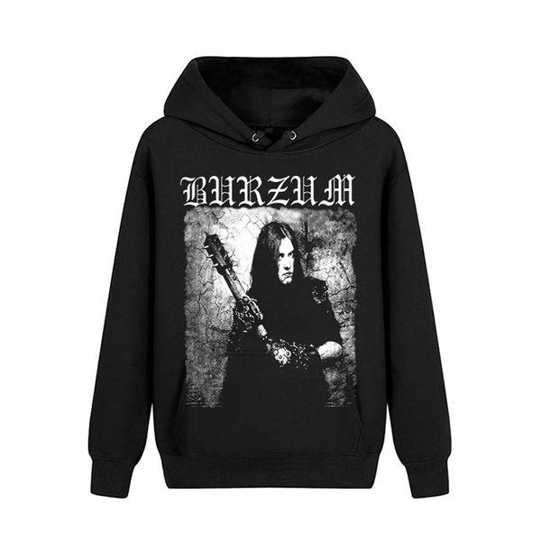 3 disegni Norvegia Burzum pollover Felpa Rock shell jacket felpe nere heavy metal sudadera Demon death fleece