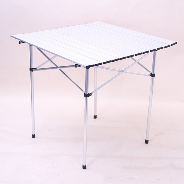 Открытый пикник кемпинг стол из алюминиевого сплава барбекю складные столы супер легкий портативный досуг Белый практический стол горячие продажи 85hxD1